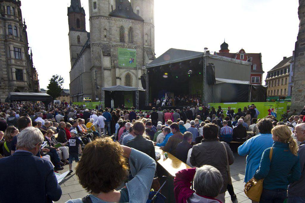 36. Deutscher Evangelischer Kirchentag Veranstaltungstechnik Halle GmbH & Co. KG
