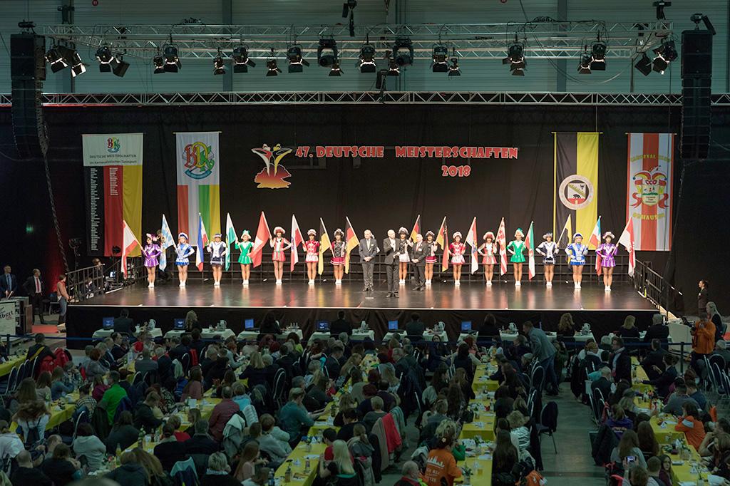 Deutsche Meisterschaft Karnevalistischer Tanzsport 2018 Veranstaltungstechnik Halle GmbH & Co. KG
