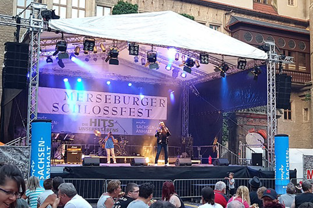 Schlossfest Merseburg Veranstaltungstechnik Halle GmbH & Co. KG