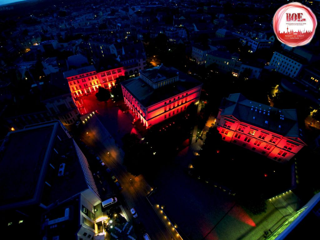 Night of Light - Veranstaltungstechnik Halle