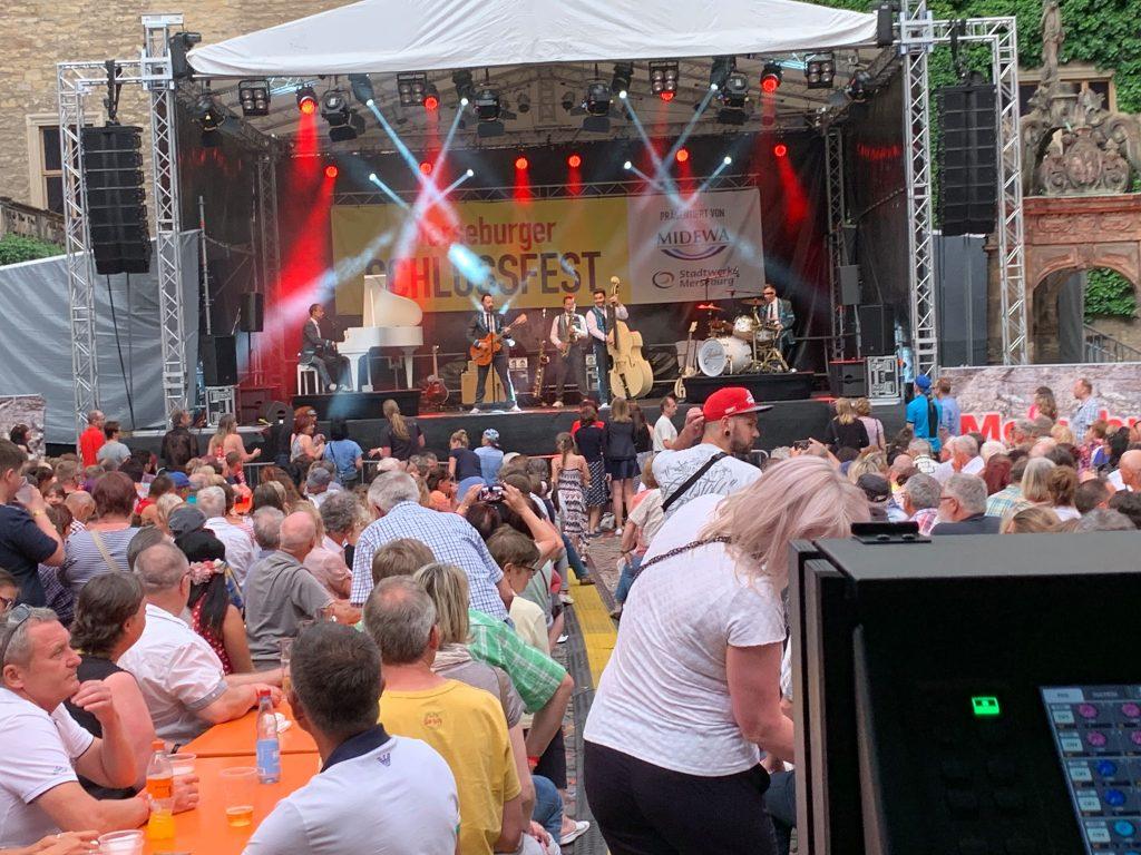 Schlossfest Veranstaltungstechnik Halle