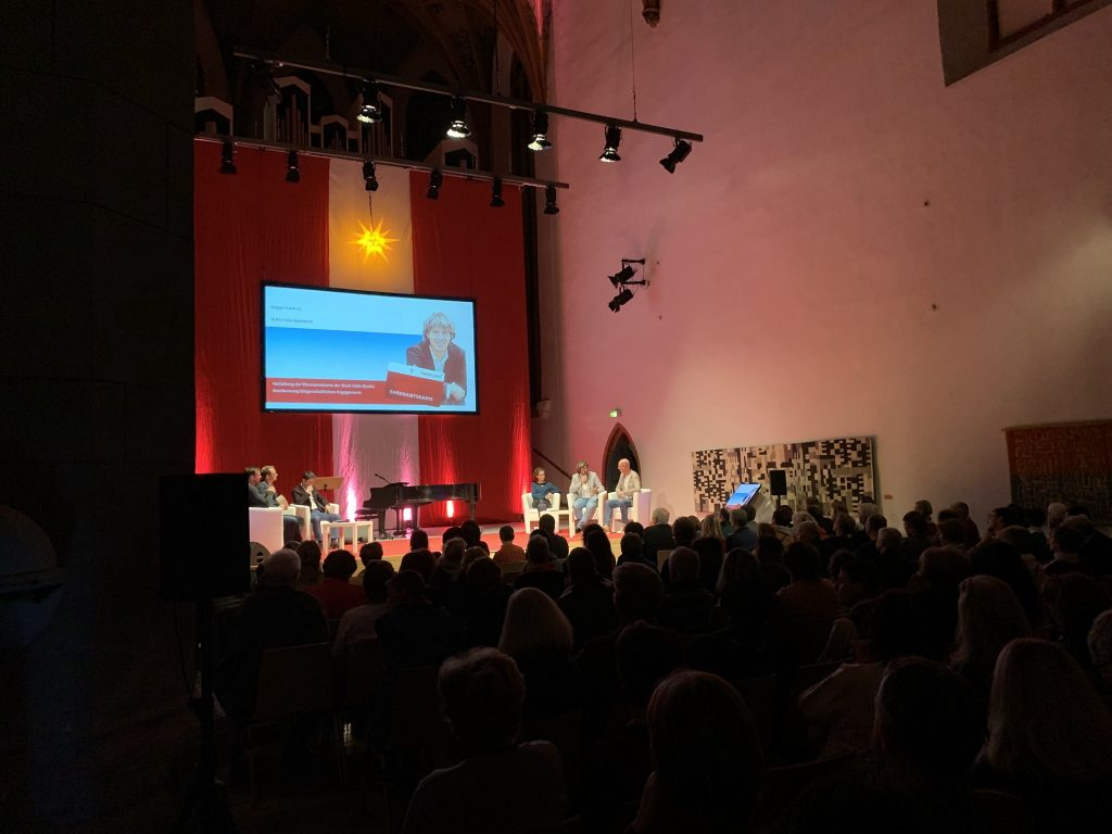 Ehrenamtskarte Veranstaltungstechnik Halle